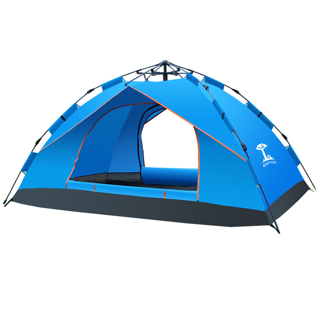3-4 Person Automatic Easy Pitch Pop Up Portable C&ing Backpacking Dome Tent - Walmart.com  sc 1 st  Walmart & 3-4 Person Automatic Easy Pitch Pop Up Portable Camping ...