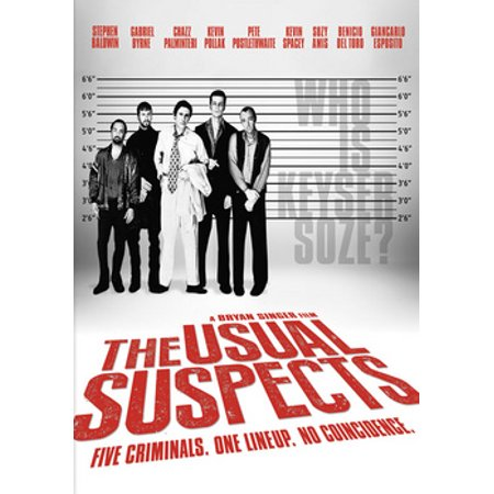 USUAL SUSPECTS (DVD/WS-2.35/FS-1.33/ENG-SP-FR
