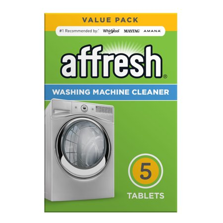Affresh Washing Machine Cleaner, 5 Count Dissolving Tablets He Washer Cleaner