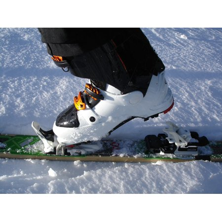 Laminated Poster Backcountry Skiiing Touring Skis Ski Touring Binding Poster Print 11 x