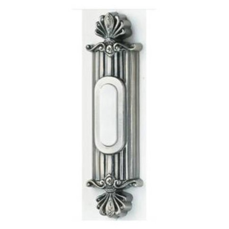 - Craftmade Surface Mount Lighted Straight Ornate Doorbell