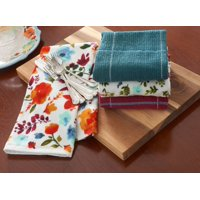 The Pioneer Woman, 4 Pack, Willow Kitchen Towel Set
