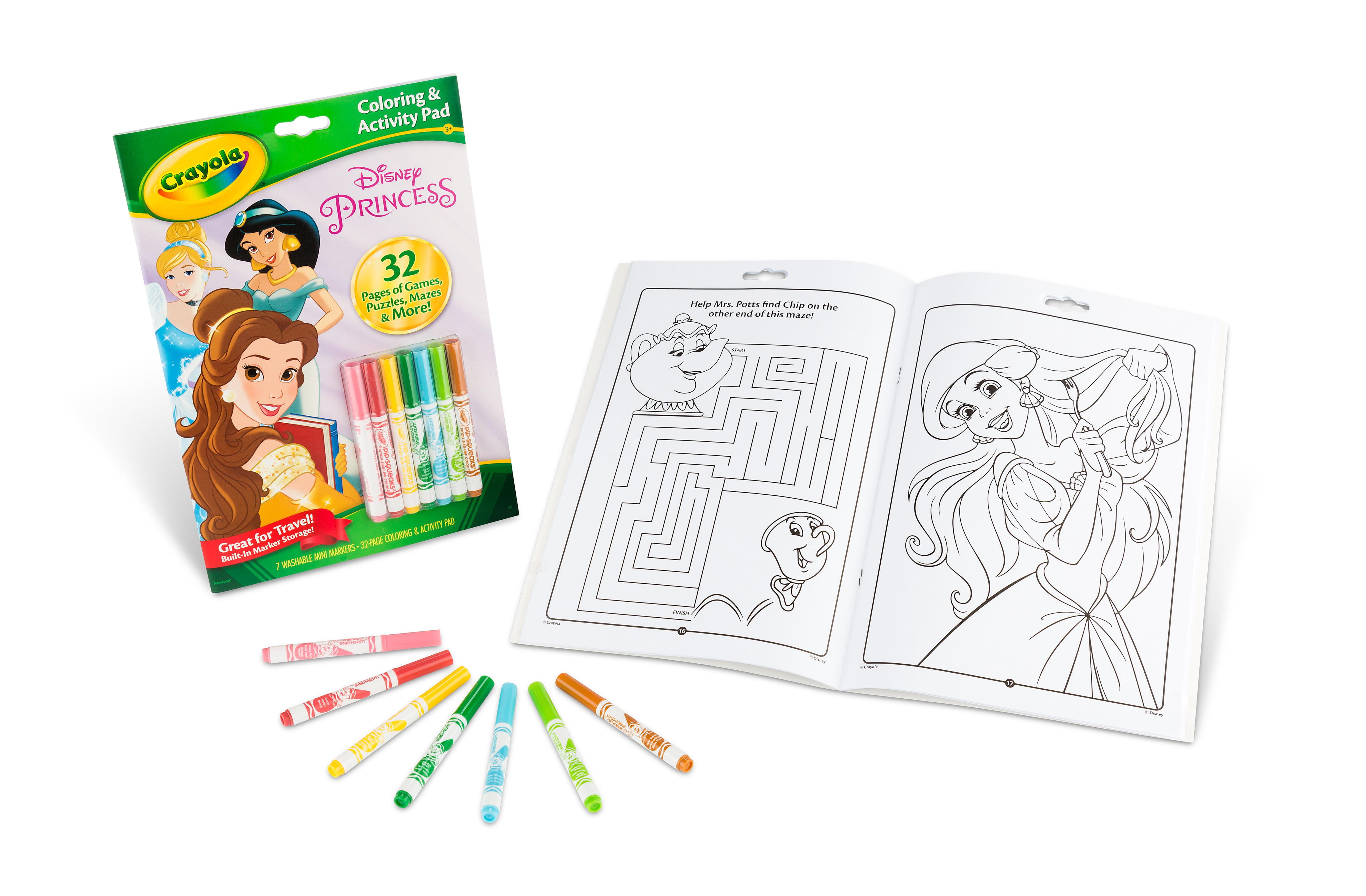 Crayola Disney Princess Coloring and Activity Book, 10 pages   Walmart.com