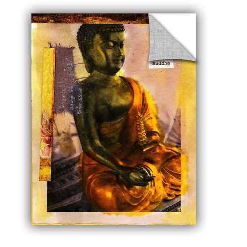 ArtWall Be A Buddha by Elena Ray Graphic Art