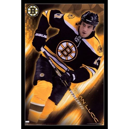 Boston Bruins - Milan Lucic 2010 Laminated & Framed Poster Print (24 x 36)