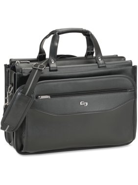 Solo Carrying Case Briefcase For 16 Notebook Business Card Accessories