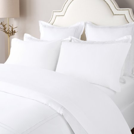 White Wood Caddy - xBriarwood Home Solid Flannel Twin Sheet Set in White