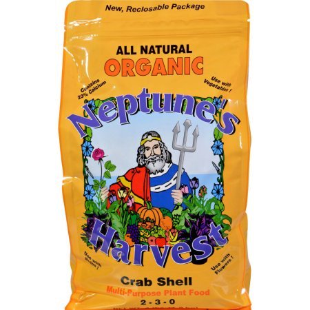 Neptune's Harvest Crab Shell Fertilizer - Orange Label - 4 Pound