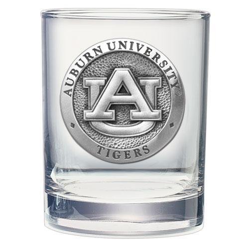 Auburn University Double Old Fashioned Glass