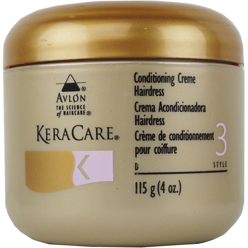 KeraCare Conditioning Creme Hairdress, 4 oz