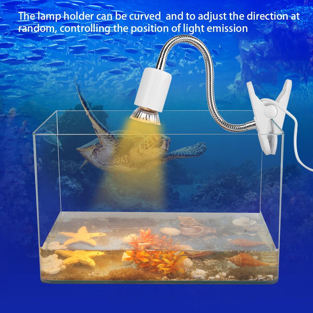 220 240v Uva Uvb 3 0 Heating Light Aquarium Heat Lamp For Reptile Turtles With Lamp Holder