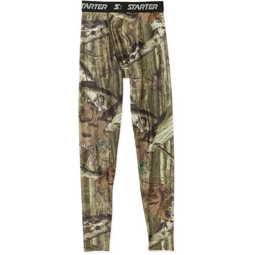 Starter Men's Core Compression Pant Mossy Oak Print