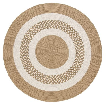 Colonial Mills FB91R108X108 9 ft. Flowers Bay Round Rug, Cuban Sand - image 1 of 1