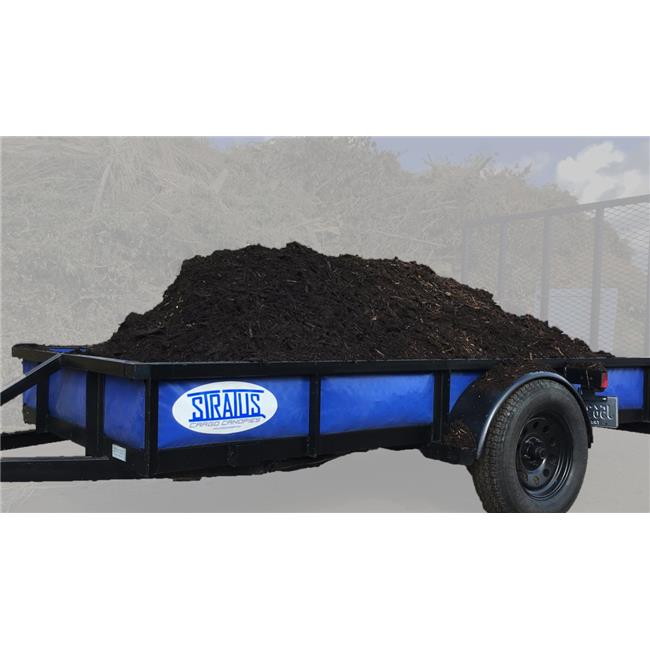 Stratus SWP72120-14 72 in. x 10 ft. Sidewall Panels for Trailer, Royal Blue - 14 in. High Opening - image 1 of 1