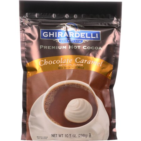 Ghirardelli Chocolate Caramel Premium Hot Cocoa Mix, 10.5 Oz (Pack Of 6)