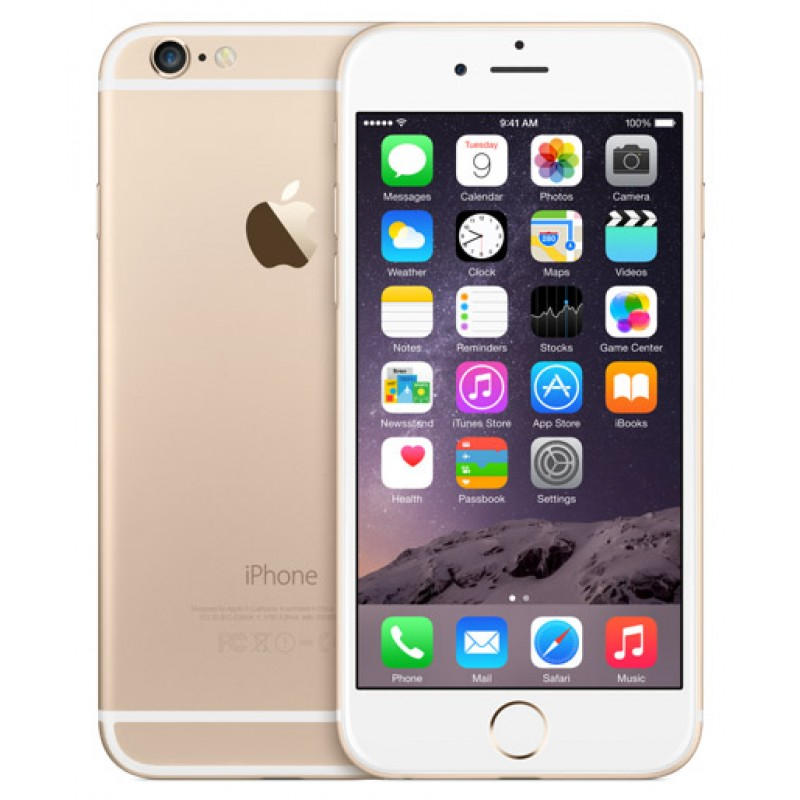Refurbished Apple iPhone 6 16GB Gold LTE Cellular AT&T MG4Q2LL/A