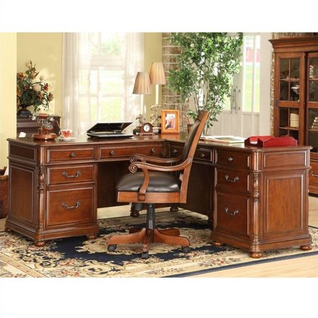 Riverside Court Desk Cognac Cherry