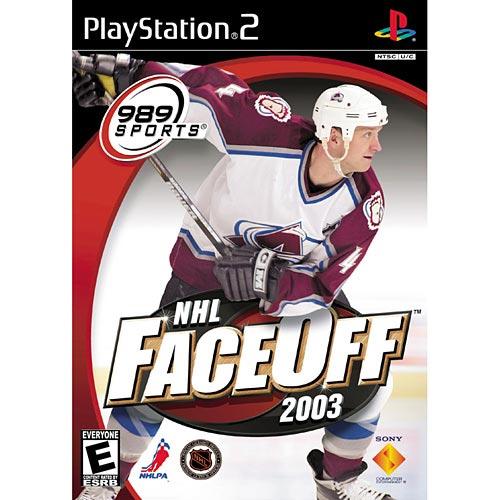 NHL Faceoff 2003 - Playstation 2(Refurbished)