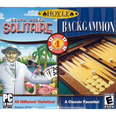 Hoyle South Beach Solitaire + Hoyle Backgammon