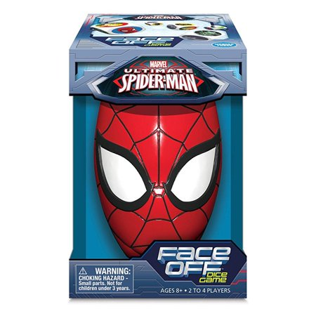 marvel ultimate spider-man face off dice game