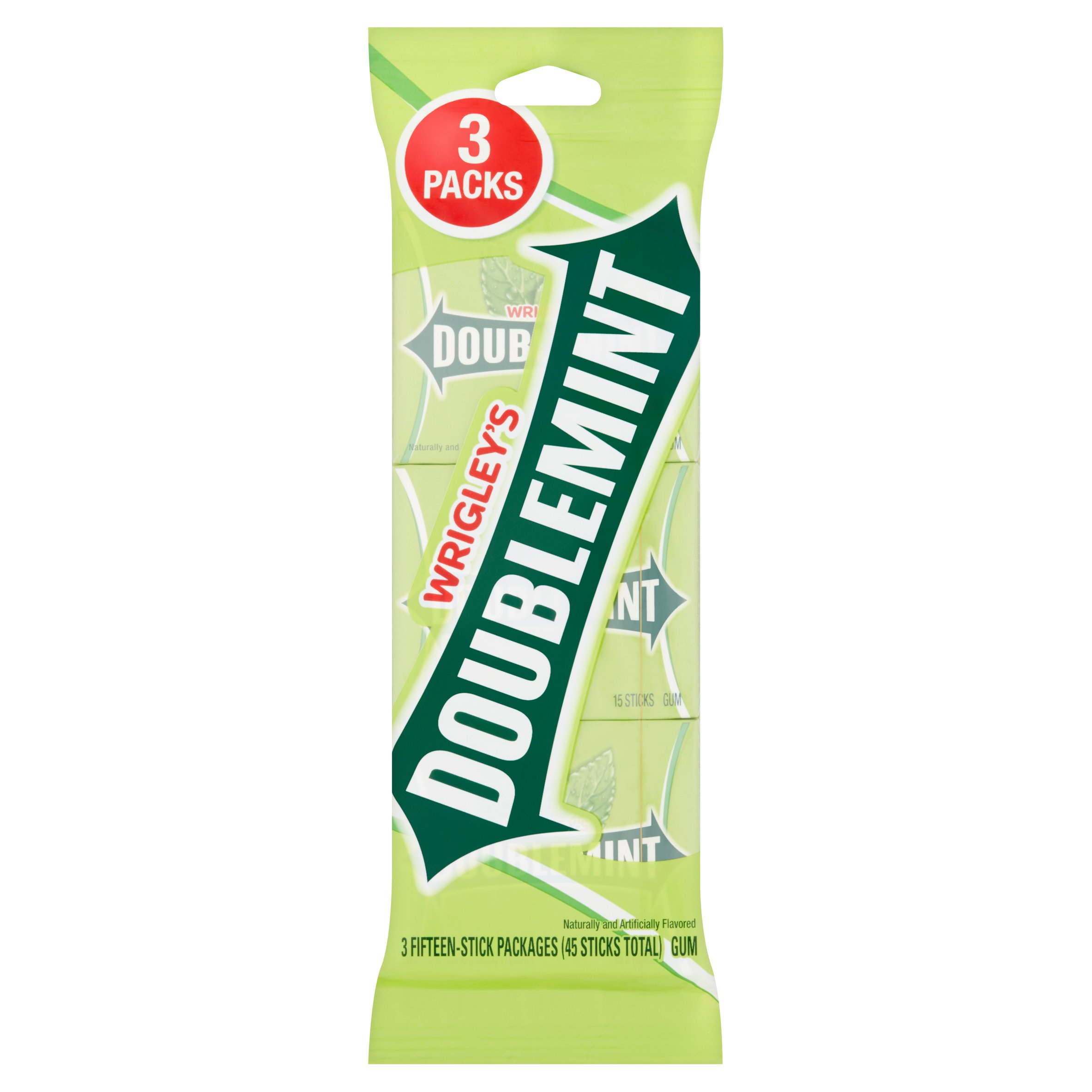 Doublemint Chewing Gum Multipack (3 packs total) by Wm. Wrigley Jr. Company