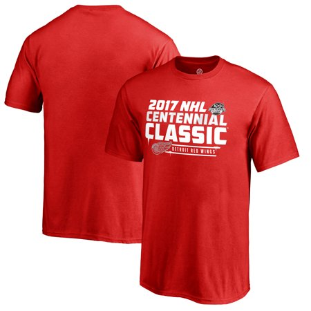 Detroit Red Wings Youth 2017 Centennial Classic Ice Cold T-Shirt - Red