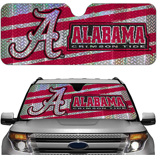 Alabama NCAA Auto Sunshade