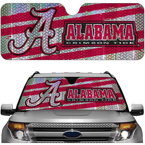 Alabama NCAA Auto Sunshade
