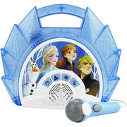 Frozen 2 Sing Along Boombox with Microphone, Built in Music, Flashing Lights