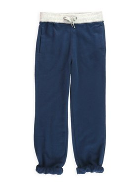 Aeropostale Boys Two tone Casual Jogger Pants, blue, XS (7)