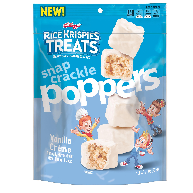 Kellogg's Rice Krispies Treats Poppers, Vanilla Creme, 7.1 Oz