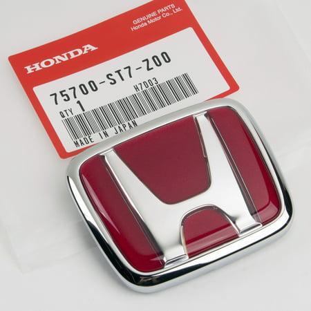 - Genuine JDM Genuine OEM Honda Integra Type R DC2 FRONT Emblem 75700-ST7-Z00 94-01 Integra