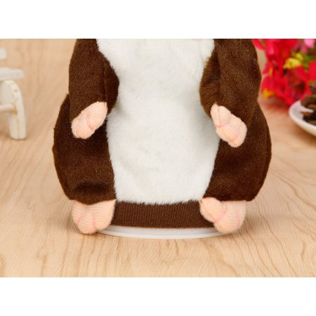- New Amusing Adorable Interesting Speak Talking Record Hamster Mouse Plush Kids Toys