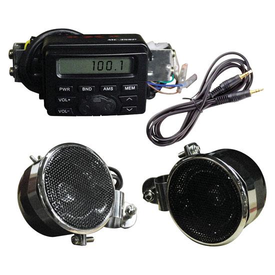 XXX Amplified Motorcycle Speaker System