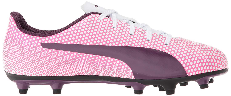 97e3c5fb85dd3e PUMA - Kids Puma Girls Spirit Fg Jr Low Top Lace Up Soccer Sneaker -  Walmart.com