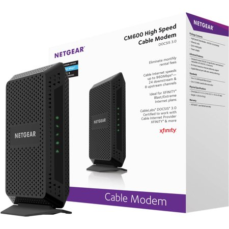 NETGEAR DOCSIS 3.0 High-Speed Cable Modem
