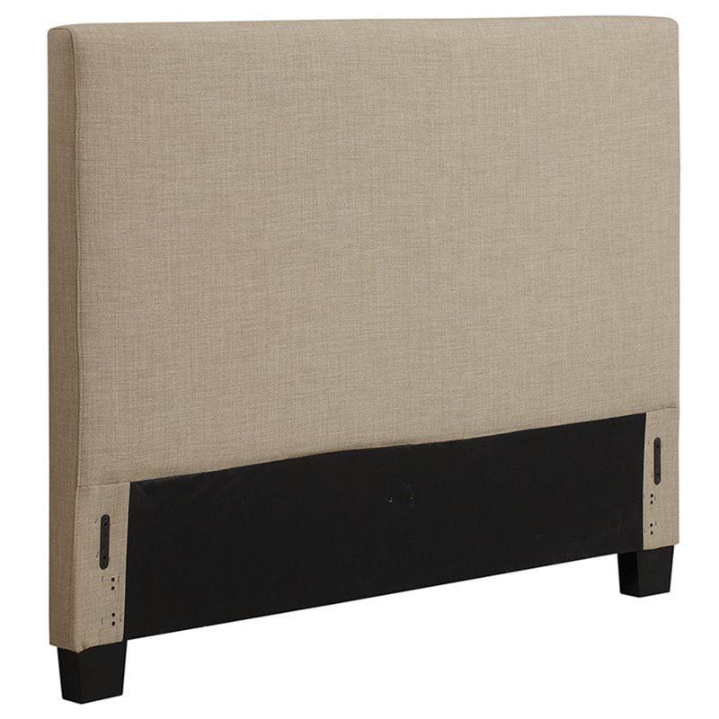 Modus Geneva Upholstered Full Panel Headboard in Toast by