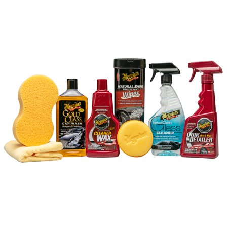 Meguiar's Detailer Car Care Bundle