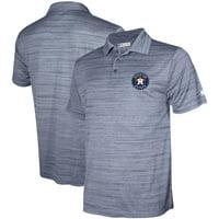 Men's Stitches Navy Houston Astros Team Logo Polo
