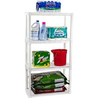 Deals on Plano 30-in W x 14-in D x 55.5-in H 4-Shelf Solid Shelving Unit