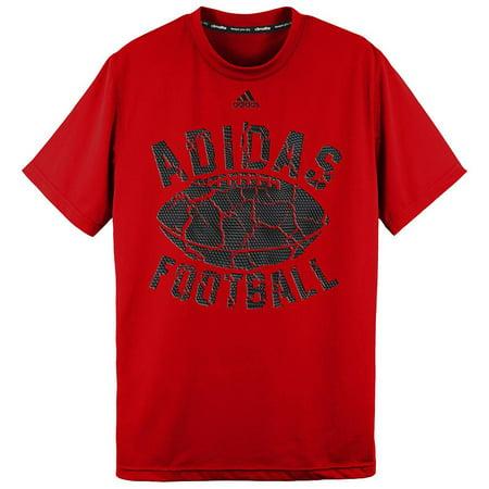 adidas Boy's Climalite Football Crumble T-Shirt