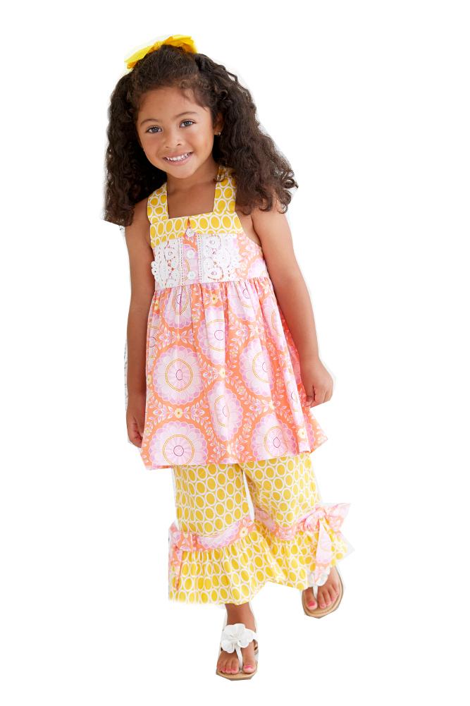 Bonnie Jean Girls Eyelet Spring Easter Dress Headband Legging Outfit 3 6 9 Month