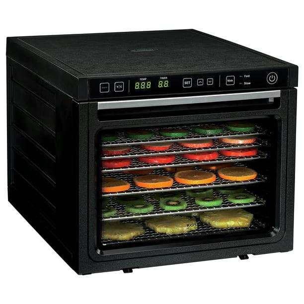 Rosewill Professional Food Dehydrator In Black Rhfd 18001