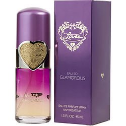 ( PACK 3) LOVES EAU SO GLAMOROUS EAU DE PARFUM SPRAY 1.5 OZ By Dana (Glamorous Fragrance)