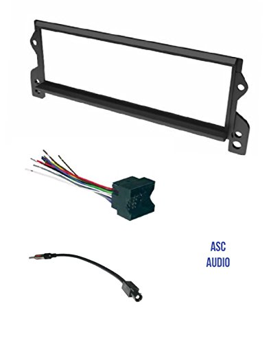 Asc Car Stereo Install Dash Kit  Wire Harness  And Antenna