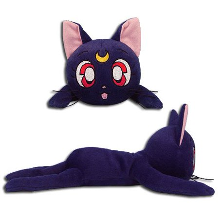 Great Eastern Entertainment Sailor Moon-Luna Collectible Plush Toy, 12' ()