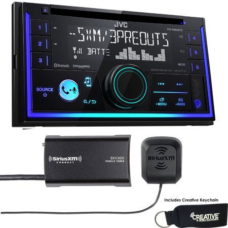jvc kw r930bts double din bluetooth in dash car stereo. Black Bedroom Furniture Sets. Home Design Ideas