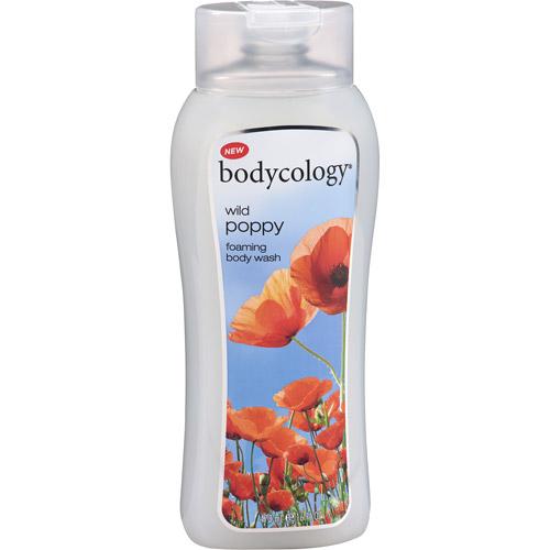 Bodycology Wild Poppy Foaming Body Wash, 16 fl oz