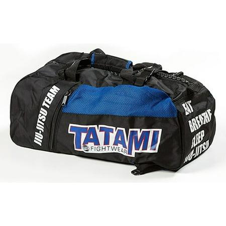 Tatami Fightwear Jiu-Jitsu Gear Bag - Black/Blue (Best Jiu Jitsu Gear Bag)