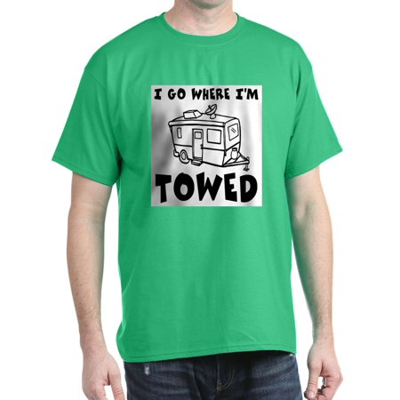 CafePress - Towed Trailer Dark T Shirt - 100% Cotton T-Shirt